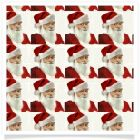 member's free santa backing paper in cream