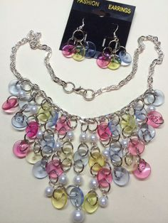 Vintage Button Necklace by BornAgainButtons on Etsy, $25.00