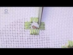 Embroidery Hardanger .Learn How To Cut a Buttonhole Edge on Evenweave - YouTube