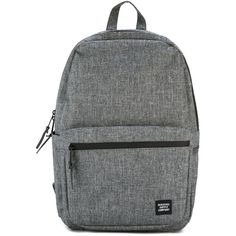 Herschel Supply Co. - front pocket backpack - unisex - Cotton - One... (£76) ❤ liked on Polyvore featuring bags, backpacks, grey, daypack bag, backpack bags, unisex bags, grey bag and herschel supply co bag