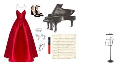 A fashion look from March 2018 featuring silk evening gowns, black open toe sandals and polish jewelry. Browse and shop related looks. Silk Evening Gown, Alex Perry, Open Toe Sandals, Nasty Gal, Nars Cosmetics, Piano, Fashion Looks, Night, Formal Dresses