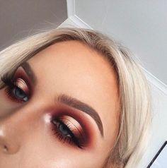 Orange Ombré Eye - Morphe Jaclyn Hill Palette