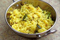 LEMON RICE makes for a great meal on its own.