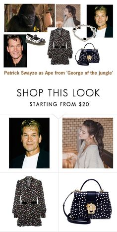 """Disney dream cast: Patrick Swayze as Ape from 'George of the jungle'"" by sarah-m-smith ❤ liked on Polyvore featuring GABALNARA, Marc Jacobs, Dolce&Gabbana and Bulgari"