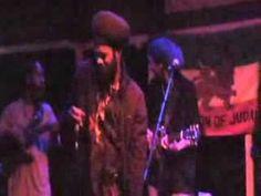 """Hold I JOY"" Abja & The Lionz of Kush LIVE in Ukiah, CA, August 24th 2013, VI Reggae - YouTube"