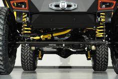 "Custom ""Yellow Jacket"" 2014 Jeep Wrangler Unlimited: Custom Lift Kit"