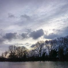 """A cloudy day today.. #weesp #water #city #netherlands #blue #could #sky #onelastday"""