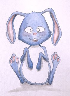 Hase, Rabbit, Illustration