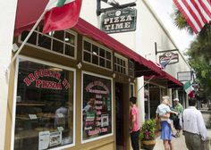 Augustine, FL - Pizza Time: A popular website has named a St. Augustine restaurant as the second-best pizza place in the country. Saint Augustine Beach, Pizza Joint, Road Trip Destinations, Florida Girl, Pizza Restaurant, Good Pizza, Great Restaurants, Florida Travel, Beach Trip
