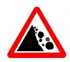 The Highway Code leaflet 'Warning signs' lists all the warning signs used on British roads that alert drivers, riders and cyclists to road conditions, junctions and dangers on the road. Sign Stencils, Sign Templates, Writing Paper, Warning Signs, Need To Know, Coloring Pages, Clip Art, Rocks