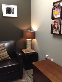 Utility Closet Converted Into A Cozy Welcoming Lactation Lounge For Nursing Moms In Busy