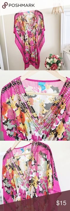 Swimsuit cover up Worn twice. Perfect condition Swim Coverups