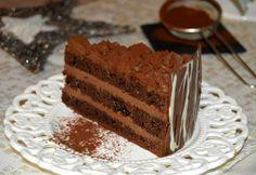 Tort de ciocolata si mascarpone | MiremircMiremirc Mousse, Something Sweet, Diy Food, Tiramisu, Cake Recipes, Cupcake, Sweets, Cooking, Ethnic Recipes