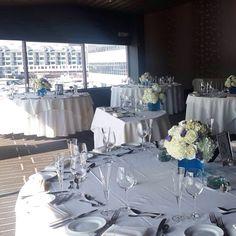 #wedding #mybigday Chart House, Weehawken, NJ Wedding Day!