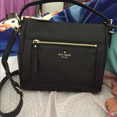 Kate Spade Cobble Hill Small Harris purse bag Originally $278  • Pebble leather • Zip top closure, adjustable crossbody strap, interior zip and double slide pockets, exterior zip pocket. • Removable shoulder straps and crossbody straps • SIZE: 8.5''h x 9.5''w x 4.5''d  • Black  Brand new with tags. Can be used as a crossbody or shoulder bag. Does not include the dust bag that's how I got the bag  $149 ON Ⓜ️ERCARI ! kate spade Bags Crossbody Bags