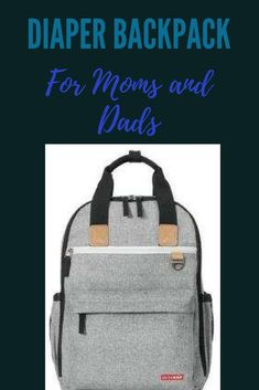Get organized with this streamlined diaper bag. Great for moms and dads who are on-the-go!  #afflink