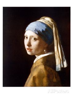 Girl with a Pearl Earring by Jan Vermeer. love all vermeer's paintings, but especially this one