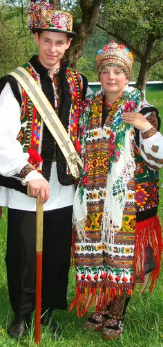 Hutsulshchyna. Hutsuls wedding in Ukrainian Carpathians.