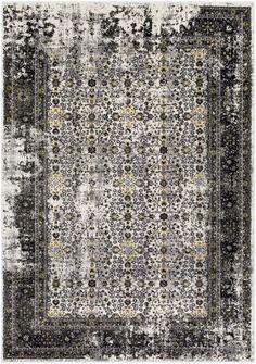 Surya Pepin PEI1015 Black/Gray Area Rug