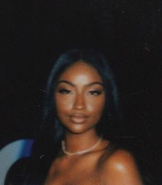 Image shared by Candice Imaho. Find images and videos about baddie, dark skin and justine skye on We Heart It - the app to get lost in what you love. Beautiful Black Girl, Pretty Black Girls, Beauty Skin, Hair Beauty, Beauty Makeup, Foto Casual, Brown Skin Girls, Black Girl Aesthetic, Aesthetic Women