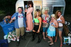 Trailer Park Tragedy: A Murder Mystery Game - Night of Mystery White Trash Party Outfits, White Trash Costume, White Trash Bash, White Trash Outfit, Redneck Costume, Redneck Party, Hillbilly Party, Hillbilly Costume, Redneck Christmas