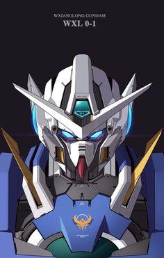 Gundam Wallpapers, Gaming Wallpapers, Gundam 00, Sci Fi Armor, Custom Gundam, Mecha Anime, Gundam Model, Mobile Suit, Cool