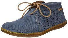Oferta: 94.9€ Dto: -44%. Comprar Ofertas de El Naturalista S.A Ne09 Lux Suede El Viajero Zapatos de cordones brogue, Mujer, Azul (Vaquero), 36 EU (3 UK) barato. ¡Mira las ofertas!