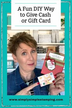 Card Making Tips, Card Making Techniques, Making Ideas, Christmas Card Sayings, Christmas Gift Card Holders, Christmas Cards, Birthday Money, Happy Birthday Cards, Gift Cards Money