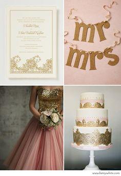@Chelsea Garthwaite - Your Colors. Inspiration: Blushing Bride #weddinginvitations #weddinginspiration