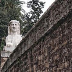 A little taste of Egypt in Rome. #roadmance #rome #roma #italy