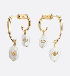 Large Gold Circle Drop Earrings - Big Hoop Earrings/ Sparkly Hoops/ Geometric Earrings/ Elegant Hoops/ Circle Earrings/ Gifts for Her - Fine Jewelry Ideas Dior Jewelry, Pearl Jewelry, Bridal Jewelry, Jewelry Gifts, Jewelry Accessories, Fashion Jewelry, Bridal Earrings, Steampunk Fashion, Woman Fashion