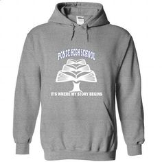 Ponce High School - Its where my story begins! - #party shirt #hoodie tutorial. CHECK PRICE => https://www.sunfrog.com/No-Category/Ponce-High-School--Its-where-my-story-begins-SportsGrey-Hoodie.html?68278