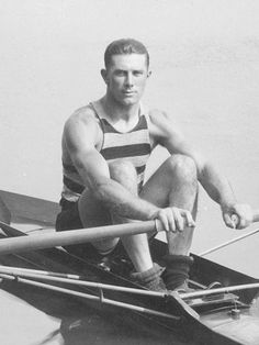 John B Kelly Snr. Three times Olympic Gold medalist and father to Princess Grace of Monaco.