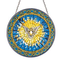 This would make a pretty tattoo... Holy Spirit Dove Stained Tiffany