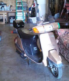 www.m37auction.com: 1984 Honda Aero 125 Scooter - 125cc