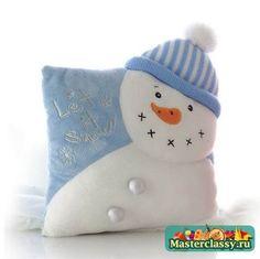 No tutorial - Winter Pillow