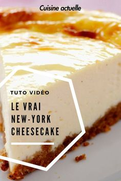 Meilleur cheesecake ever ! Best cheesecake ever! Newyork Cheesecake, Best Cheesecake, Classic Cheesecake, Easy Cheesecake Recipes, Cheesecake Bites, Pumpkin Cheesecake, Dessert Recipes, Homemade Cheesecake, Cheesecake Mascarpone