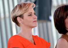 Charlene Wittstock Photos - Founder, Princess Charlene of Monaco Foundation, Princess Charlene of Monaco, speaks onstage during The Princess Charlene of Monaco Foundation-USA Official Launch at the Annenberg Community Beach House on May 12, 2016 in Santa Monica, California. - The Princess Charlene of Monaco Foundation-USA Official Launch
