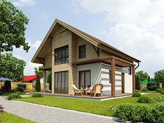 Prefab Homes: SIP House Modular 128 m2