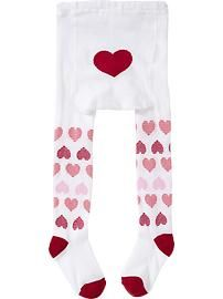 Patterned Tights for Baby