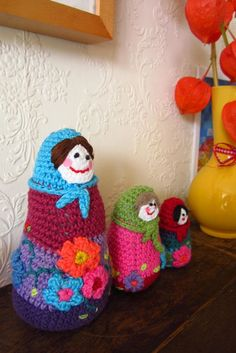 attic 24 crochet babushka doll