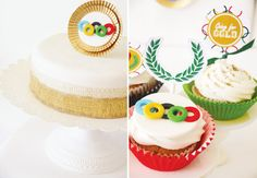 {Sporty & Gold} Olympics Party Theme // Hostess with the Mostess®
