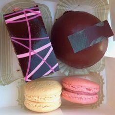 Actually eating the purple one now Pistacia Vera, Chocolate Bomb, Restaurants, Purple, Eat, Desserts, Tailgate Desserts, Deserts, Dessert
