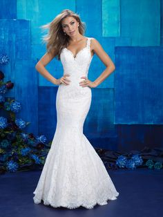 Allure Bridals 9412 Ivory Size 10