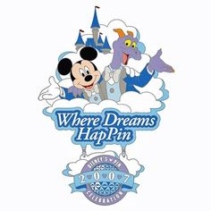 """Step into a world of Disney Pin Dreams at Disney's Pin Celebration 2007 - Where Dreams HapPin. Immerse yourself in a world of endless possibilities where you can dream like Mickey Mouse or imagine"