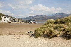 Barmouth Dunes. To the beach!