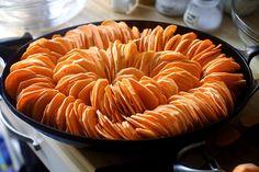 Crispy sweet potato roast, from Smitten Kitchen