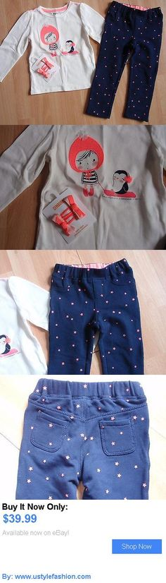 Baby girls clothing shoes and accessories: Nwt Girls Gymboree Sz 18-24 Months White Shirt, Pants, Hair Clips Polar Pink BUY IT NOW ONLY: $39.99 #ustylefashionBabygirlsclothingshoesandaccessories OR #ustylefashion