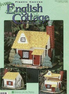 English cottage II 1 Small English Cottage, English Cottages, Christmas Villages, Christmas Gifts, Miniature Houses, Wishing Well, Old English, Plastic Canvas Patterns, Condos