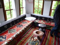 Another shot of the living quarters in the Turkish House. Traditional house now a museum in Mostar.